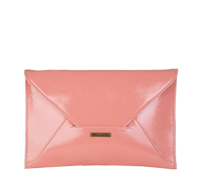 Envelop clutch Isabella (perzikkleur)