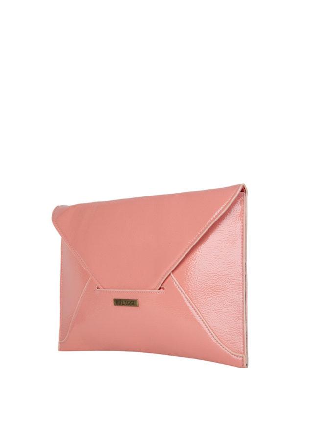 Envelop clutch bag Isabella (peach)