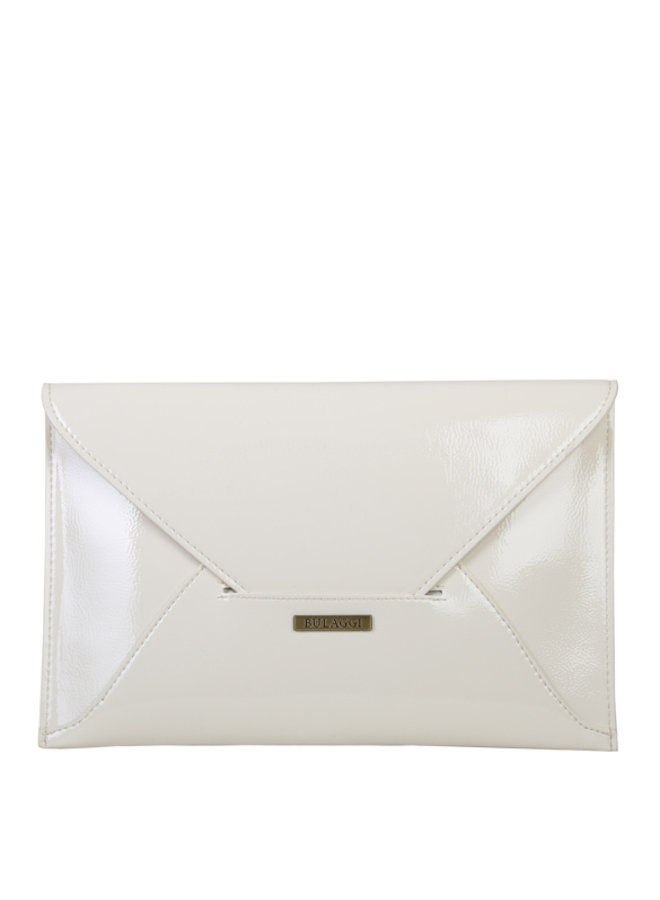 Envelop clutch bag Isabella (bone)