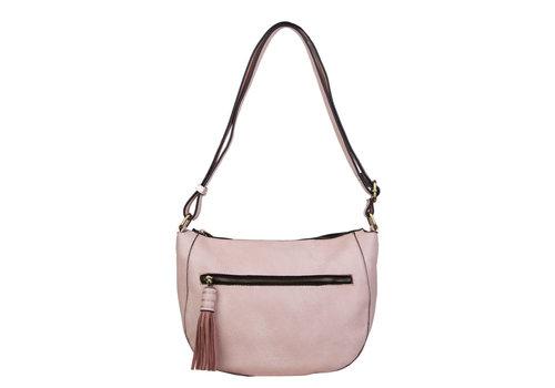 Crossbody tas Ella (oud roze)