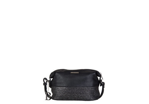 Crossbody bag Wave (black)