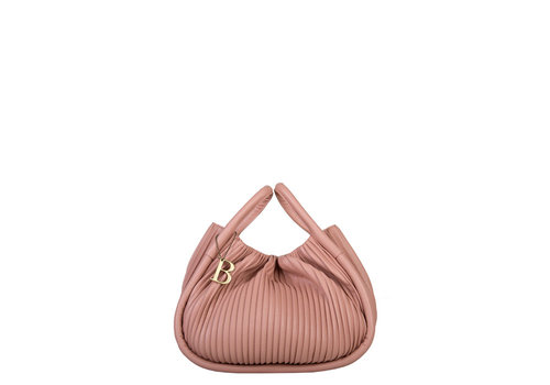 Handbag Pleaty (dusty pink)