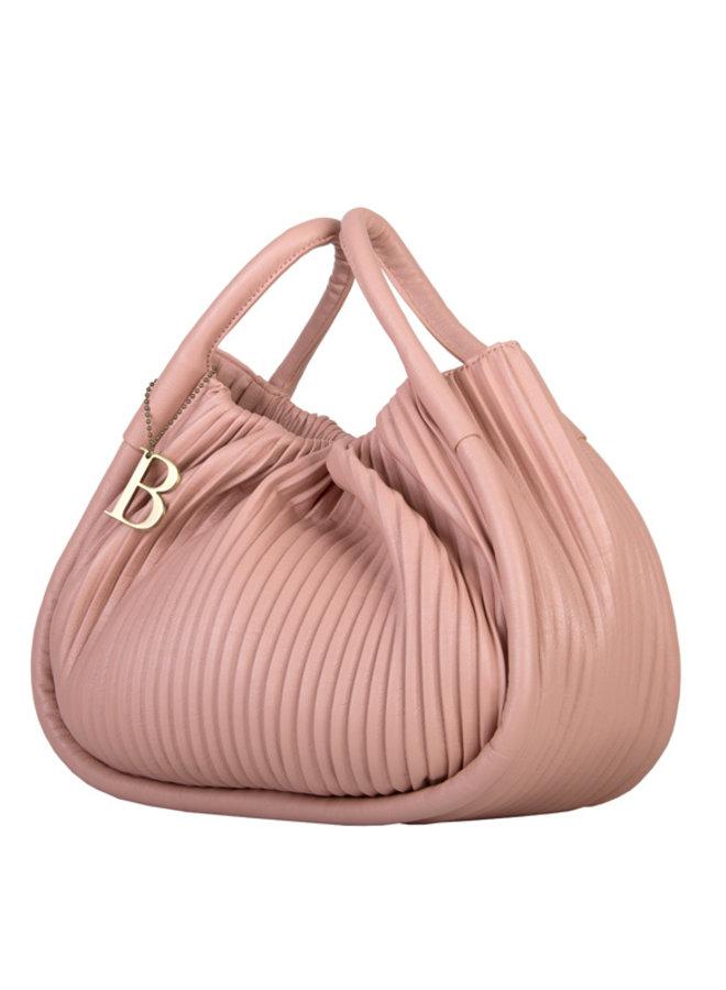 Handbag Pleaty (dusty pink)