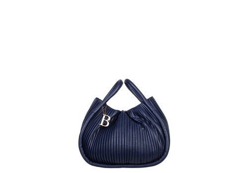 Handbag Pleaty (dark blue )
