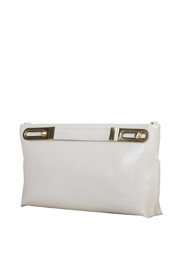 Clutch bag Polly (bone)