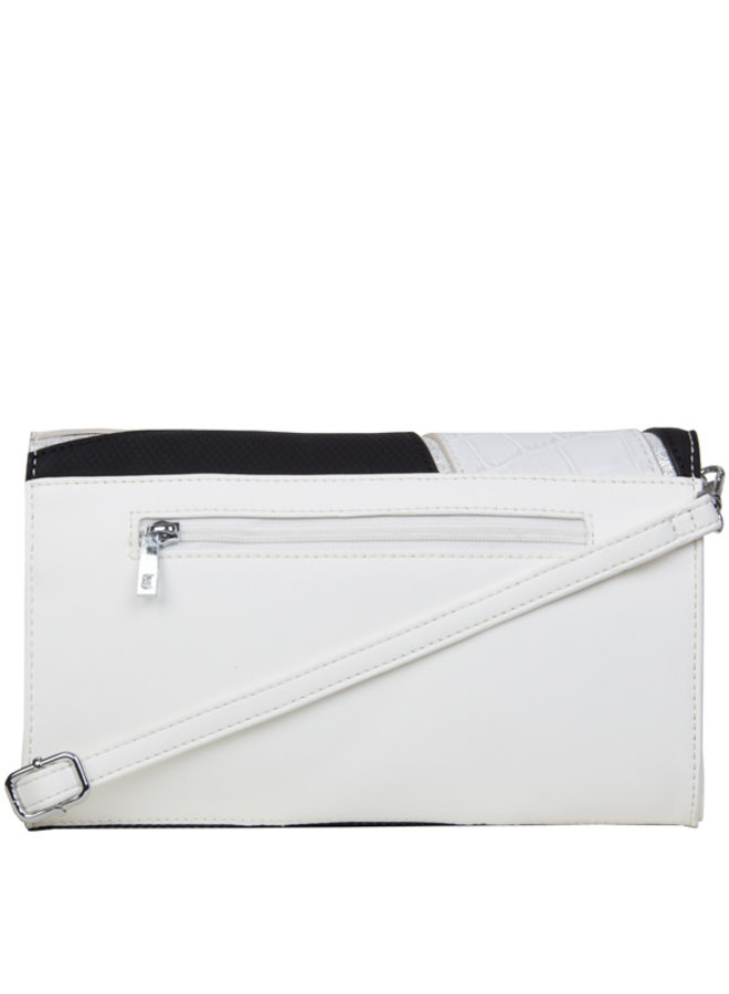 Clutch bag Carmel (white)