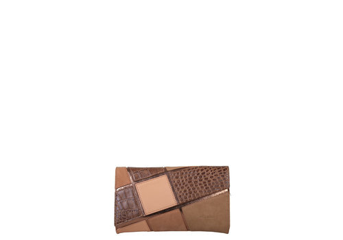 Clutch bag Carmel (camel)