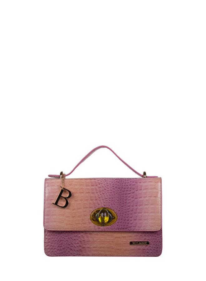 Crossbody tas Nina (oud roze)