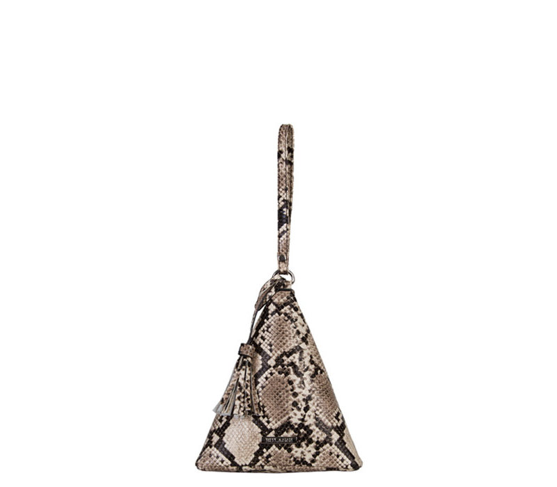 Handbag Mona (triangle) (camel)