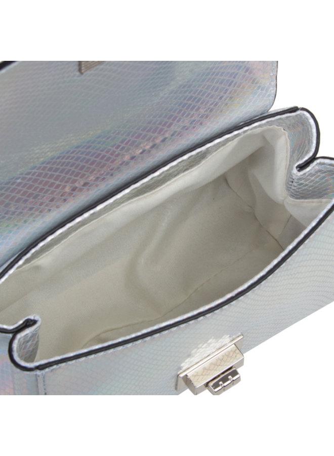 Crossbody tas Fern (zilver)