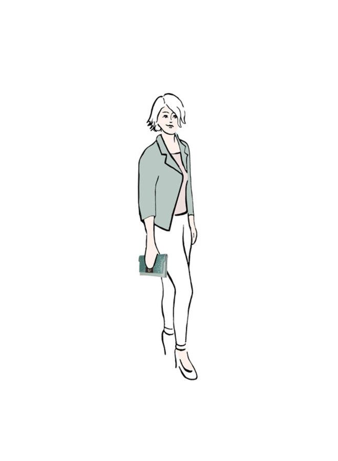 Clutch Dory (smaragdgroen)