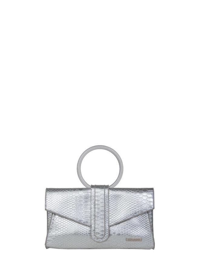 Clutch Donna (zilver)