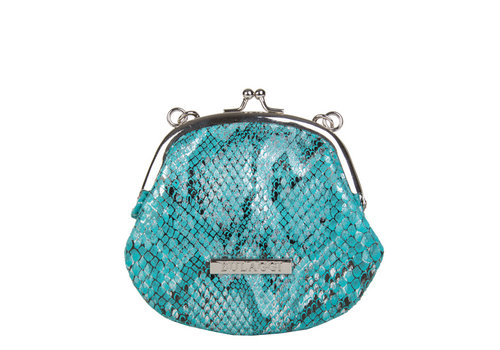 Purse / crossbody bag Jade (turquoise)
