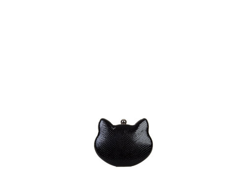 Clutch bag Cat (black)