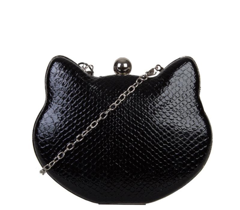 Clutch Cat (zwart)