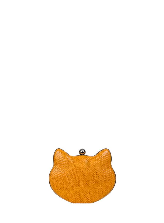 Clutch Cat (okergeel)