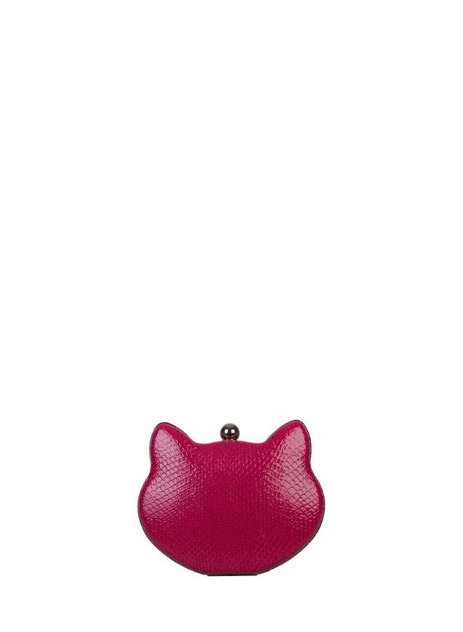 Clutch Cat (fuchsia)