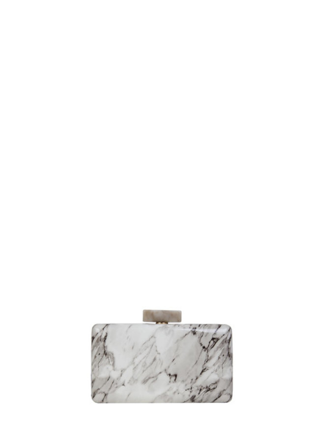 Clutch bag Xena Marble (bone)