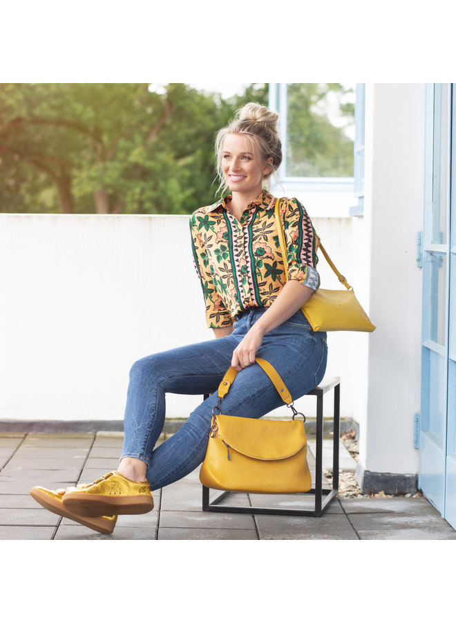 Crossbody bag Cindy (dark yellow)