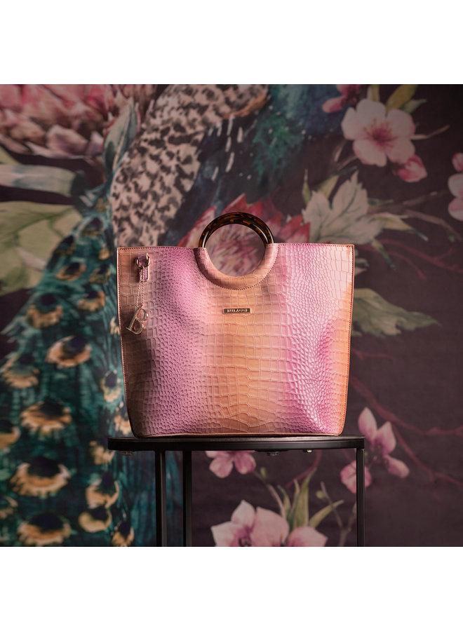 Handtas Nina (oud roze)