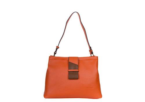 Hobo shoulder bag Goldie (orange)