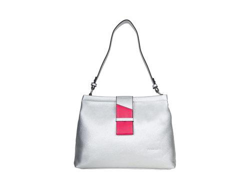 Hobo shoulderbag Goldie (silver)