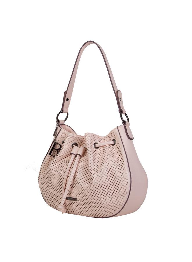 Hobo shoulder bag Penny (dusty pink)