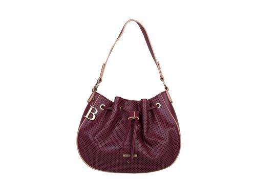 Hobo shoulder bag Penny (burgundy)