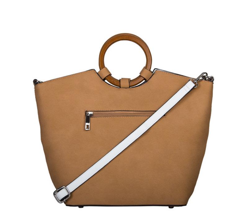 Shopping bag Frannie (camel)