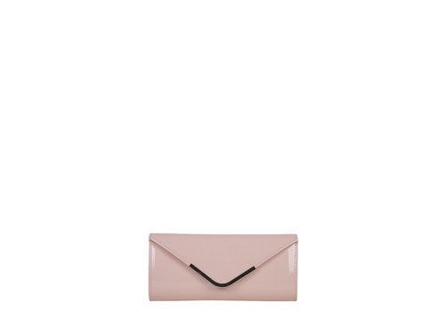 Clutch bag Sabella (pastel pink)