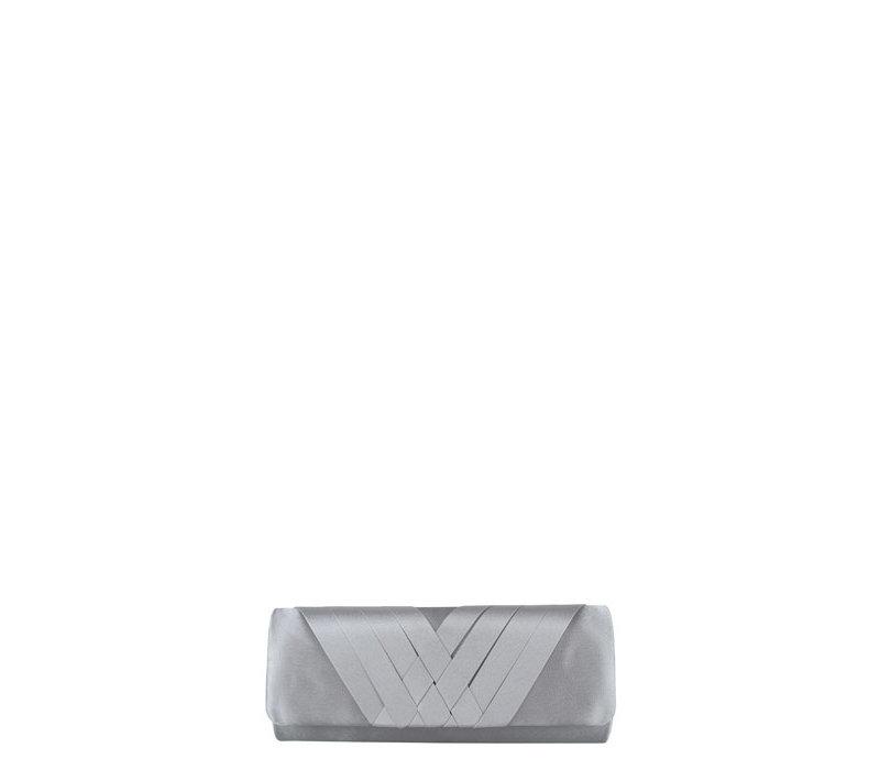 Clutch bag  Suka (silver)