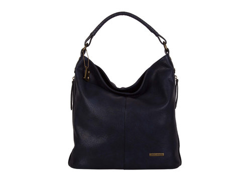 Hobo Shoulder bag Erica (dark blue )