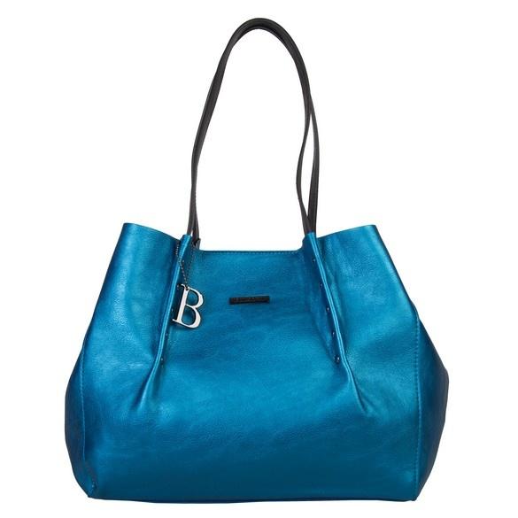blauwe neon tas
