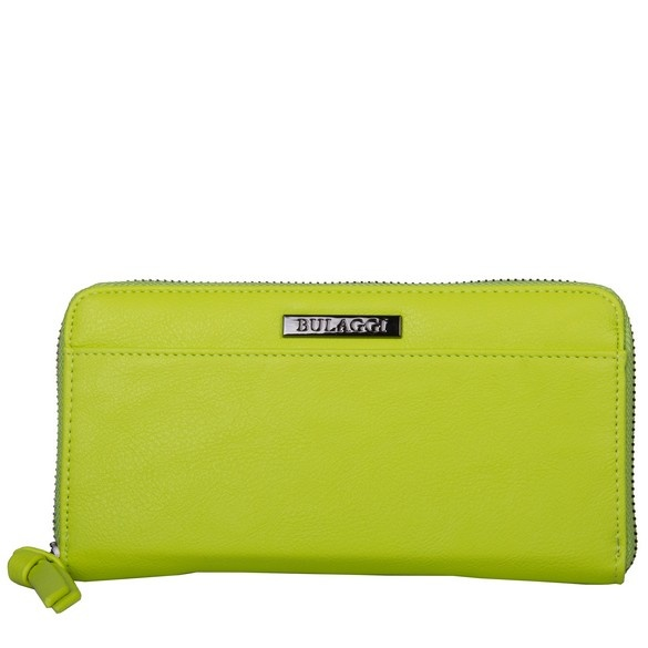 neon portemonnee groen