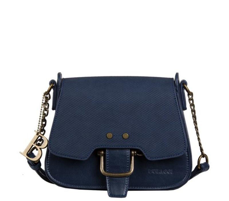 Blauwe tas Pantone classic blue - Dhalia BULAGGI