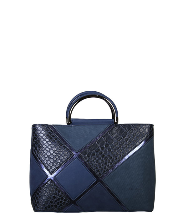 Blauwe tas Pantone classic blue - Handtas Carmel BULAGGI
