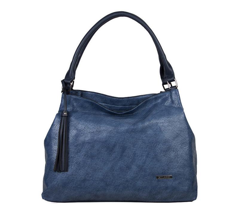 Blauwe tas Pantone classic blue - Schoudertas Mila BULAGGI