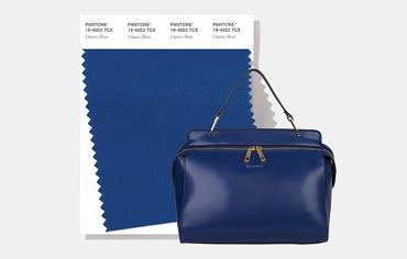 Classic blue bags