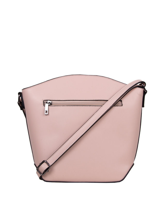Crossbody bucket bag Kayla (dusty pink)