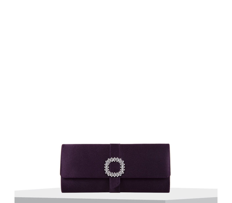 Clutch bag Stephi (dark purple)