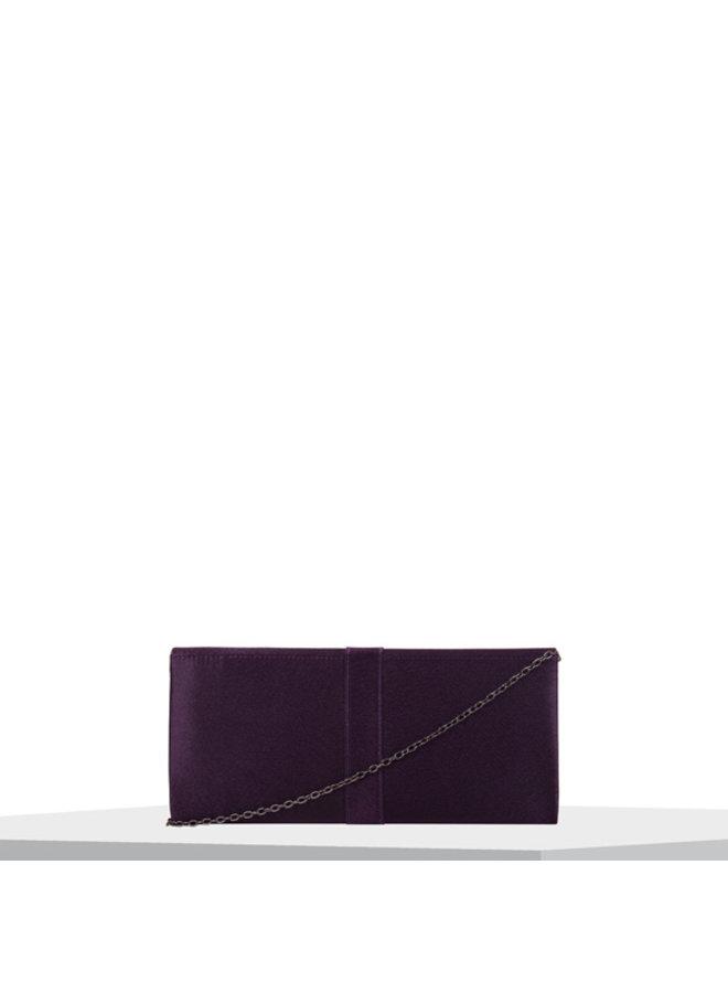 Clutch bag Stephi (dark purple)