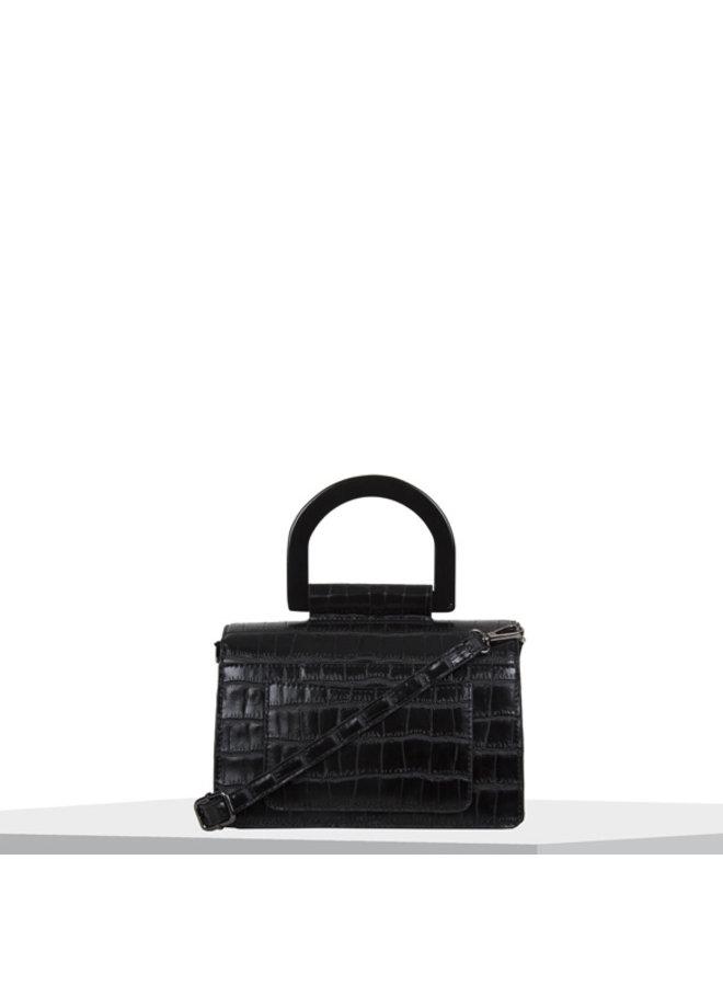 Crossbody tas Croc (zwart)