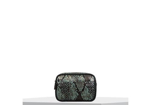 Crossbody bag Protea (emerald green)