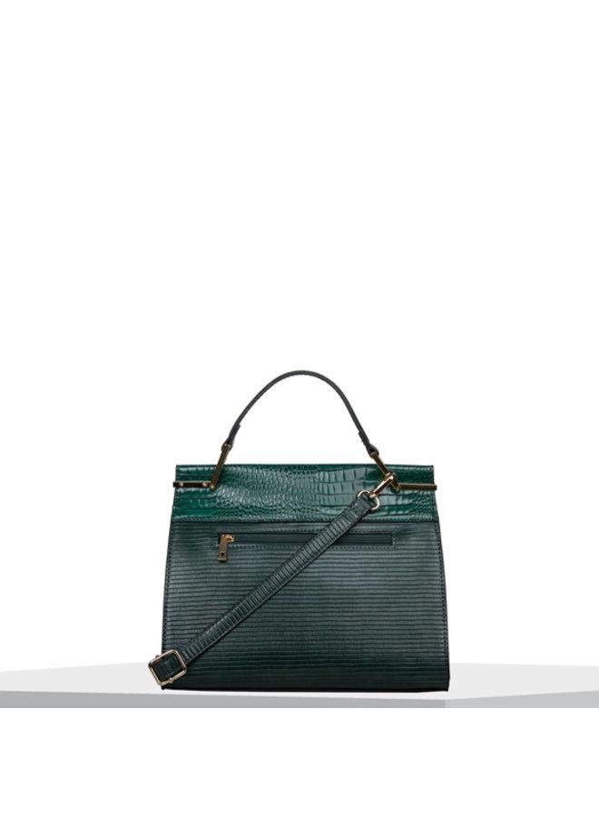 Handbag Liatris (emerald green)