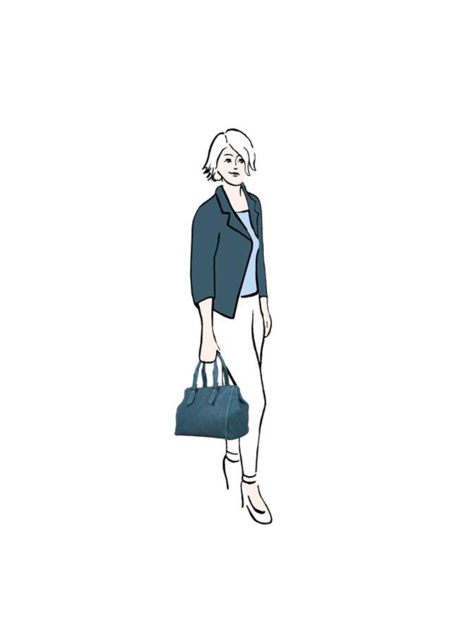 Shopper Deb (smaragdgroen)