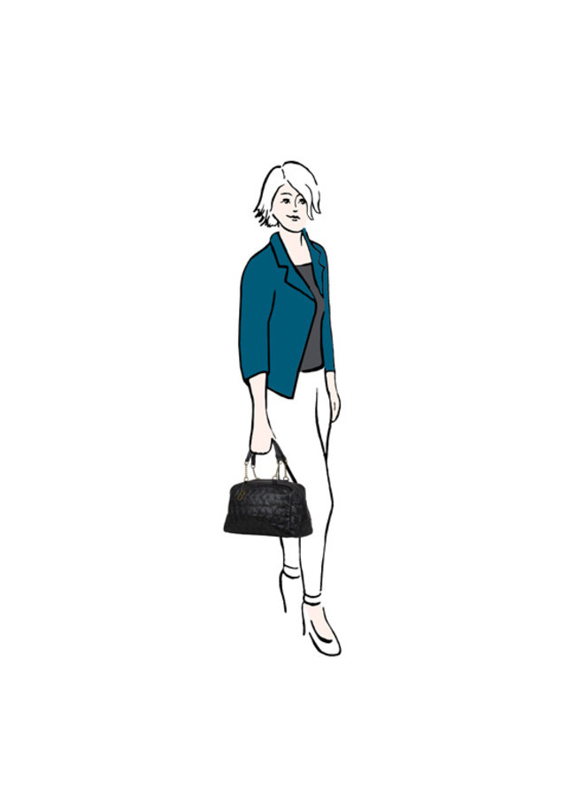 Handbag Chester (burgundy)