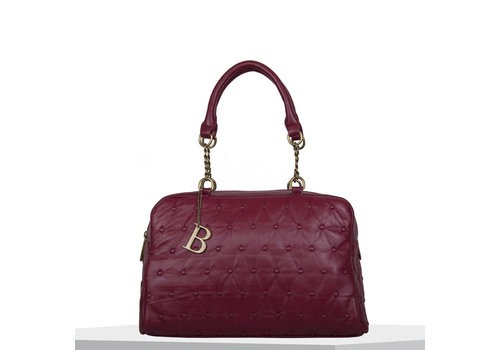 Handbag Chester (burgundy)