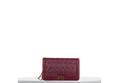 Crossbody tas Chester (bordeauxrood)