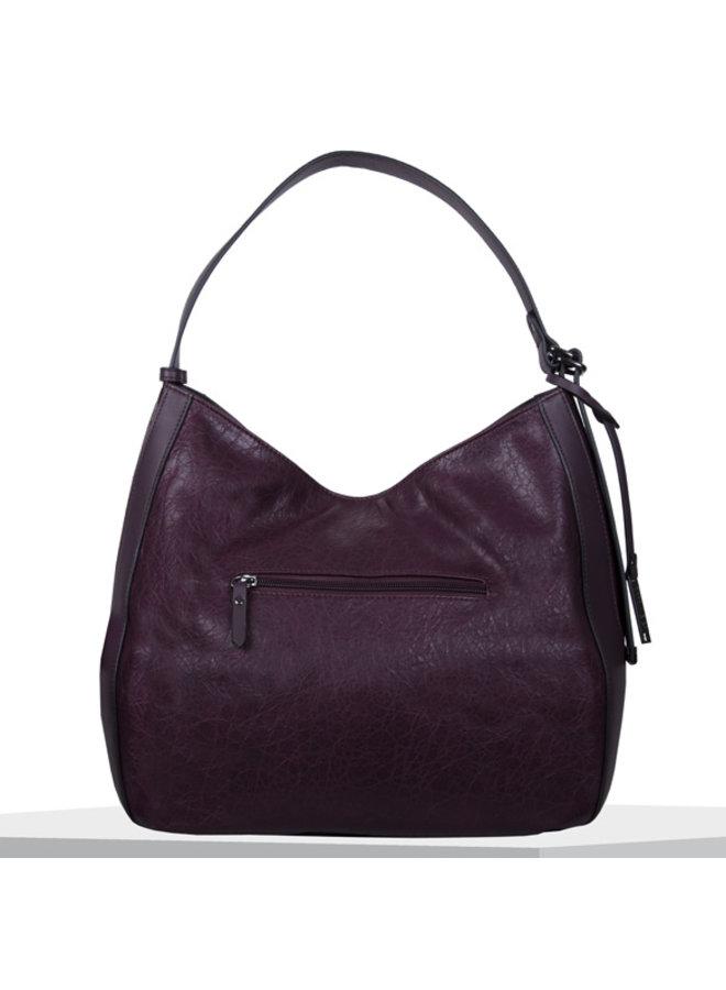 Hobo shoulder bag Heather (dark purple)