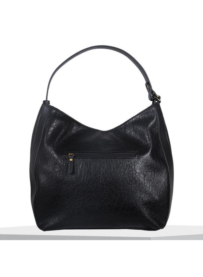 Hobo shoulder bag Heather (black)